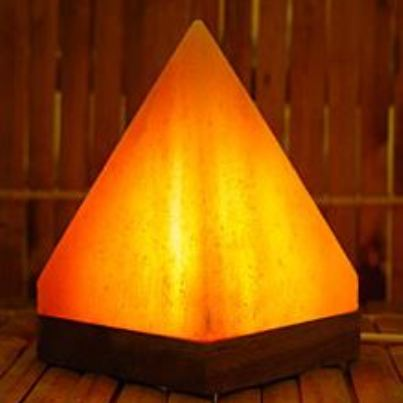 Pink Pyramid Salt lamp