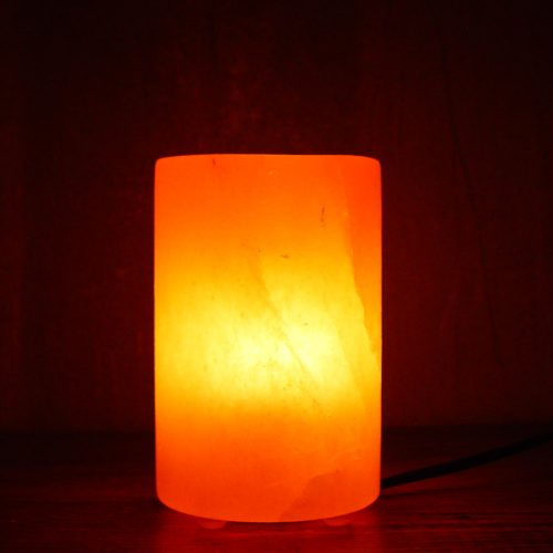 CYLINDER-SHAPE-PINK-SALT-LAMP-PLASTIC-FEET
