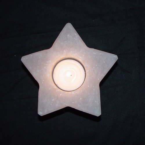 star-white-salt-candle-holder
