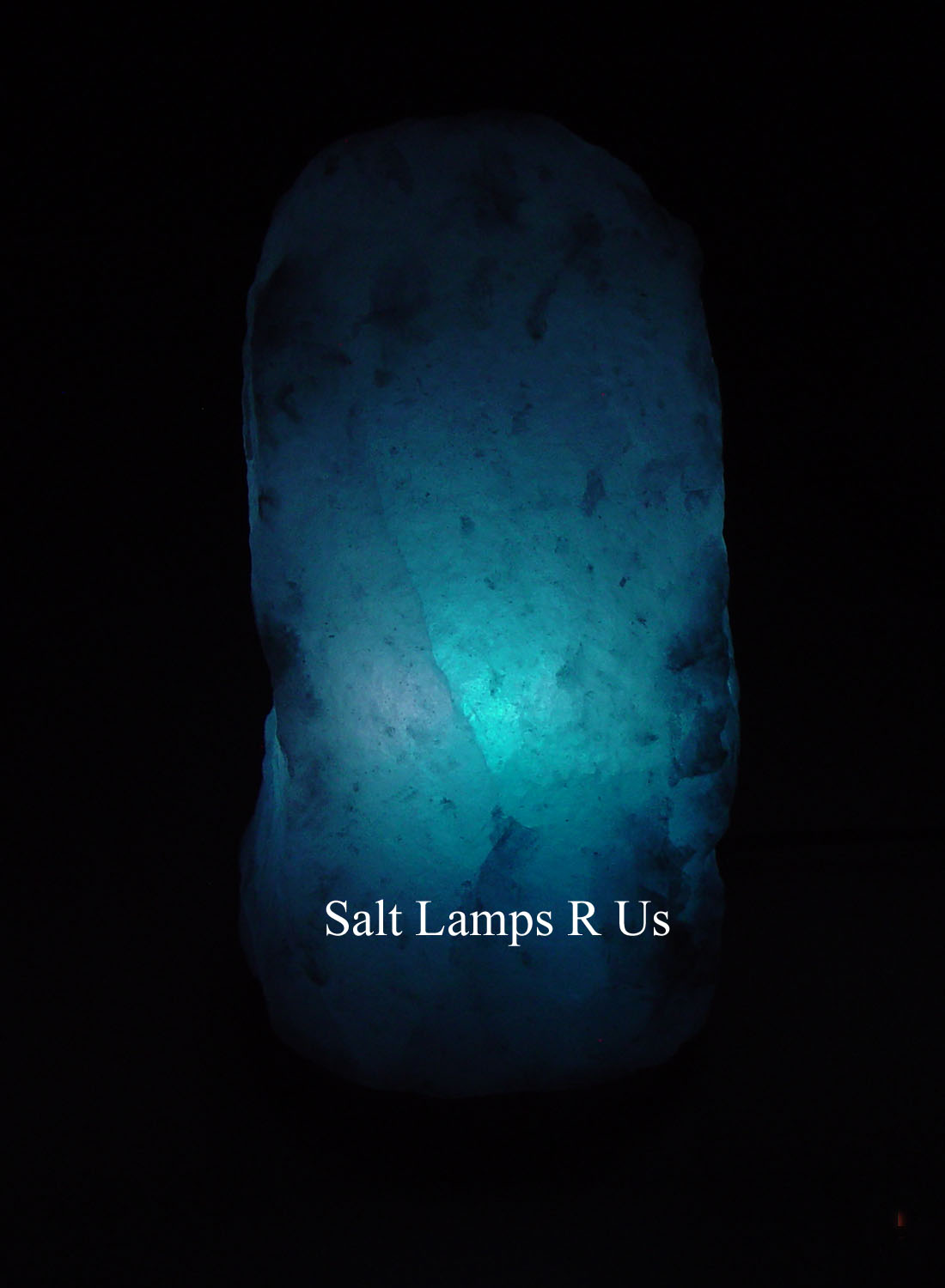 Salt Lamps Blue : White Salt Lamp Himalayan Large Attached Wood Base 4-6kg LA702 Saltlamps-R-Us Co.Uk