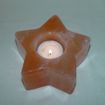 star-pink-salt-candle-holer
