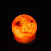 BALL-SALT-LAMP-SHAPE-GLOBE-HIMALAYAN-WOOD-BASE